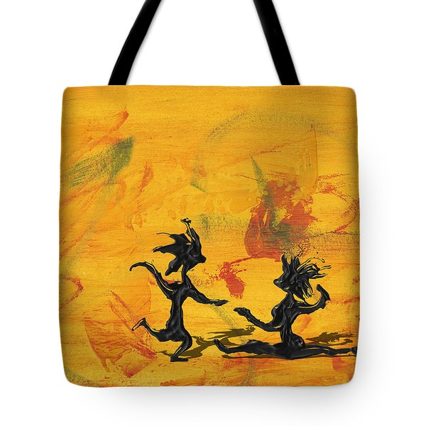 Dance Art Dancing Couple 238 Tote Bag