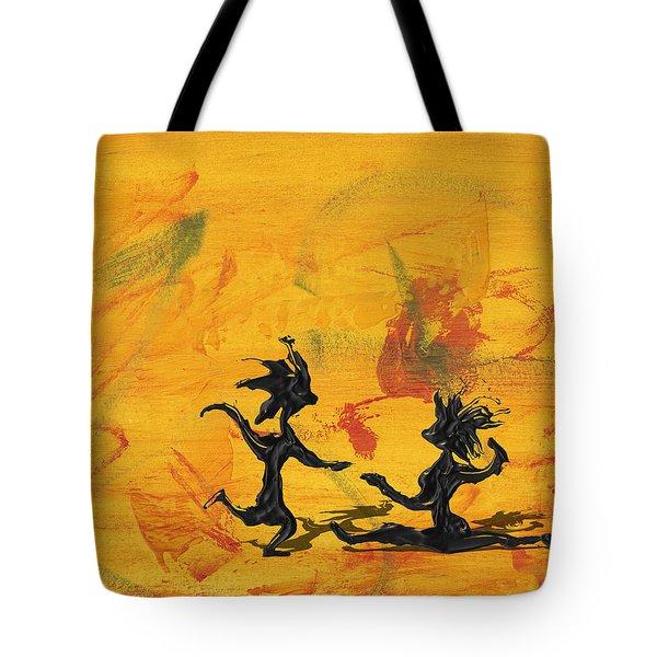Dance Art Dancing Couple 238 Tote Bag