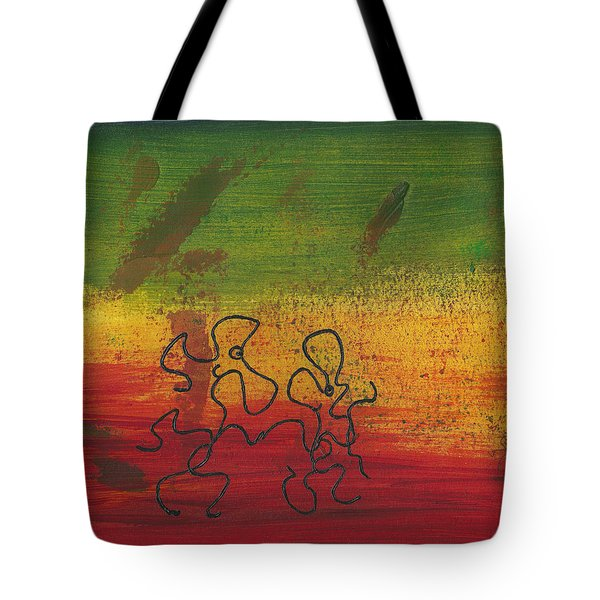 Dance Art Dancing Couple 28b Tote Bag