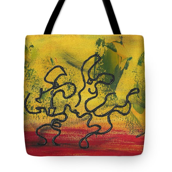 Dance Art Dancing Couple 57 Tote Bag