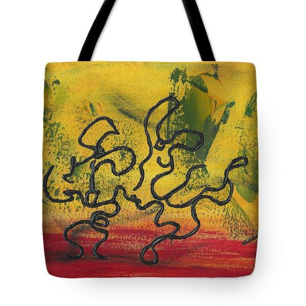 Dance Art Dancing Couple 57 Tote Bag