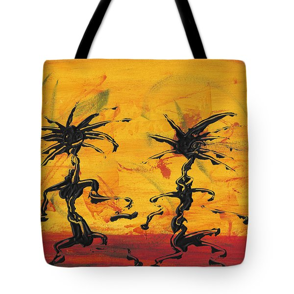 Dance Art Dancing Couple X Tote Bag