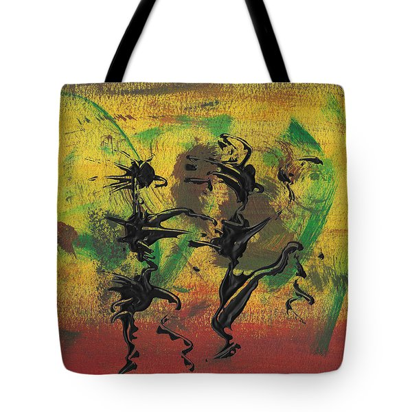 Dance Art Dancing Couple Xi Tote Bag