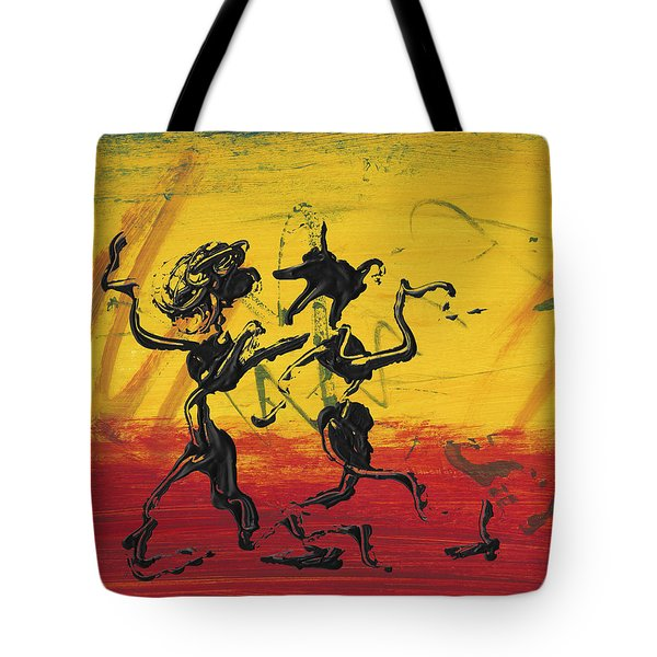 Dance Art Dancing Couple Xii Tote Bag