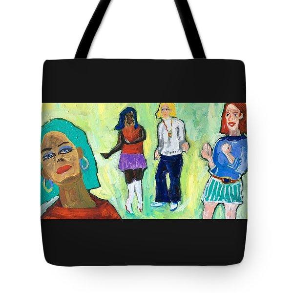 Dance Club A-go-go Tote Bag