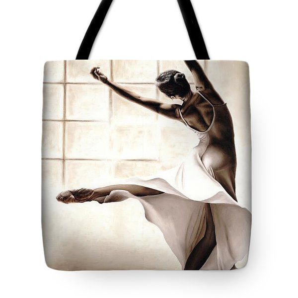 Dance Finesse Tote Bag by Richard Young