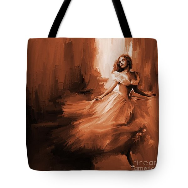 Dance In A Dream 01 Tote Bag