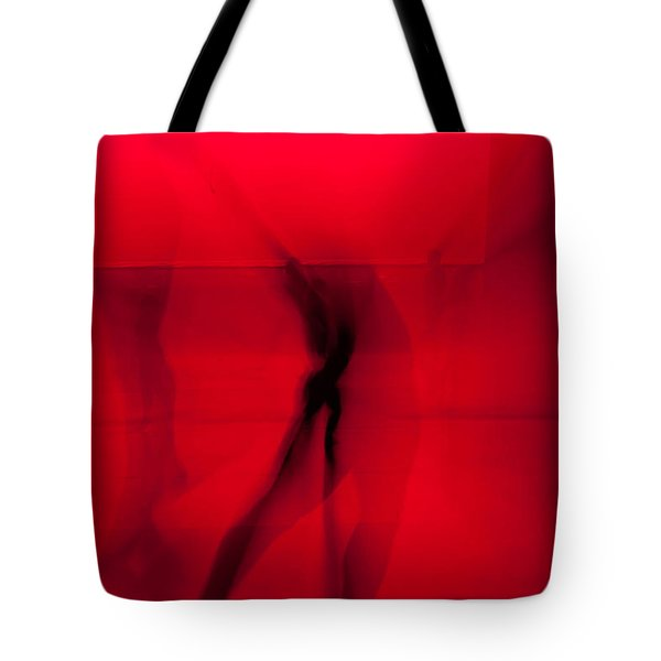 Dance In Red Tote Bag by Scott Sawyer