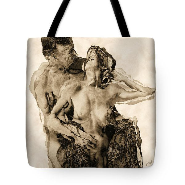 Dance Tote Bag by Kurt Van Wagner