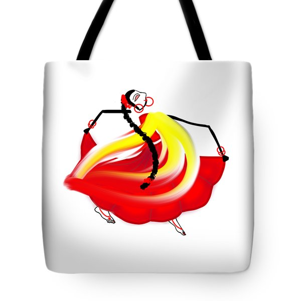 Dance Like No One's Watching Tote Bag