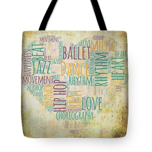 Dance Love V2 Tote Bag