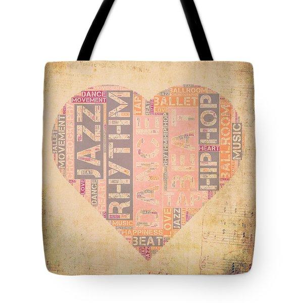 Dance Love V3 Tote Bag