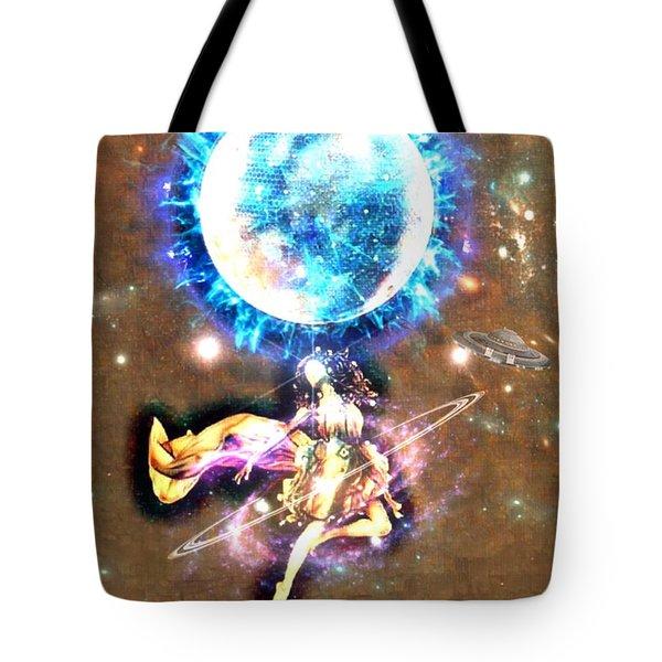 Dance Me To The Moon Tote Bag