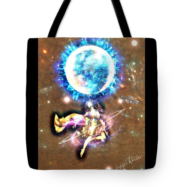 Dance Me To The Moon Tote Bag