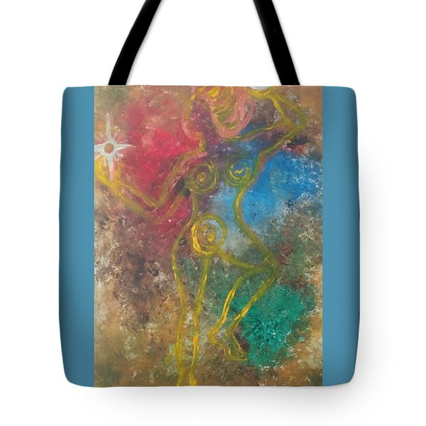 Dance Of Creation Tote Bag