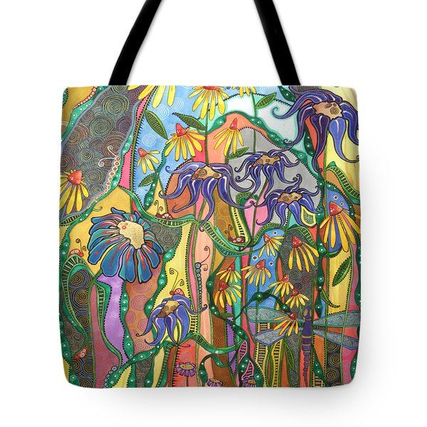 Tote Bag featuring the painting Dance Of Life by Tanielle Childers