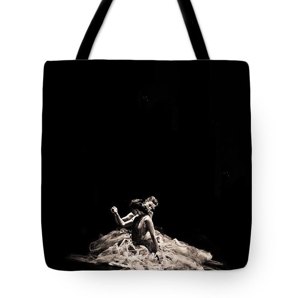 Dance Of Motion Tote Bag