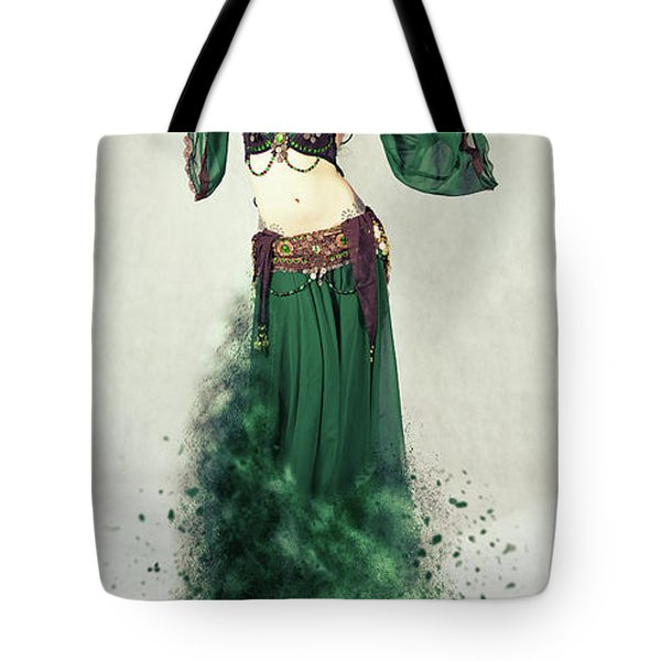 Dance Of The Belly Tote Bag