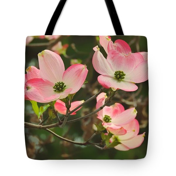 Dance Of The Dogwood Tote Bag