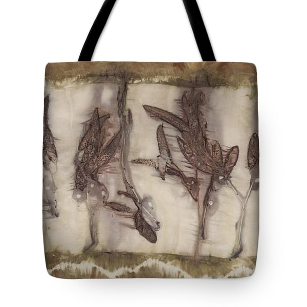 Dance Of The Eucalyptus Leaves Tote Bag