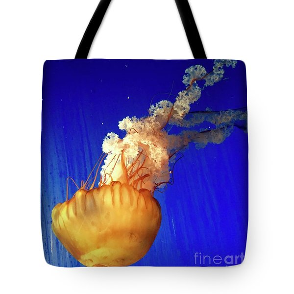 Dance Of The Jelly Tote Bag by Beth Saffer
