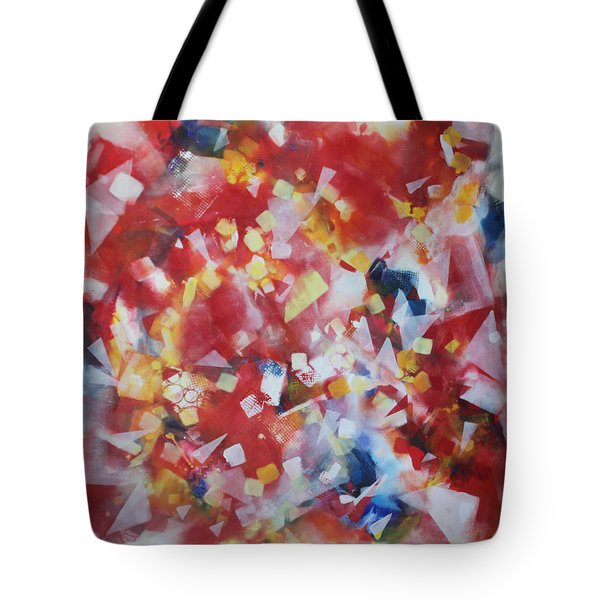 Dance Of The Lights Tote Bag