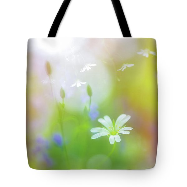 Dance Of The Nature Spirits Tote Bag