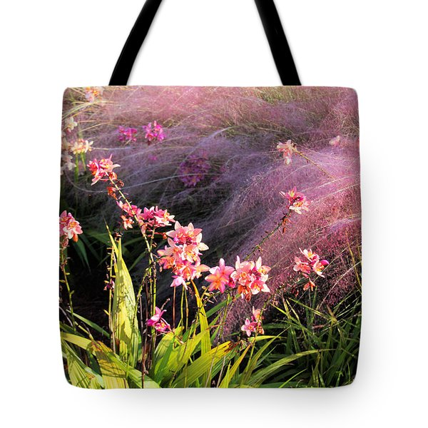 Dance Of The Orchids Tote Bag