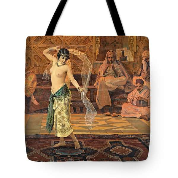 Dance Of The Seven Veils Tote Bag