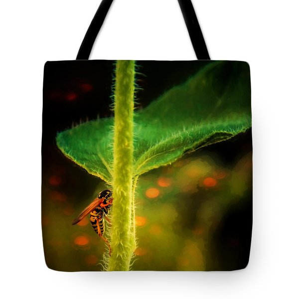 Dance Of The Wasp Tote Bag