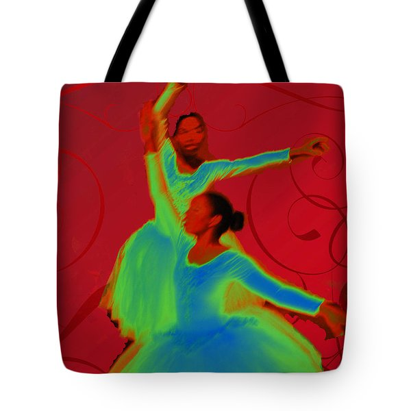 Tote Bag featuring the photograph Dance Recital by Joseph Hollingsworth