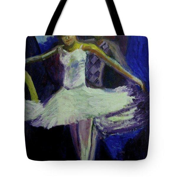 Dance Rehersal Tote Bag