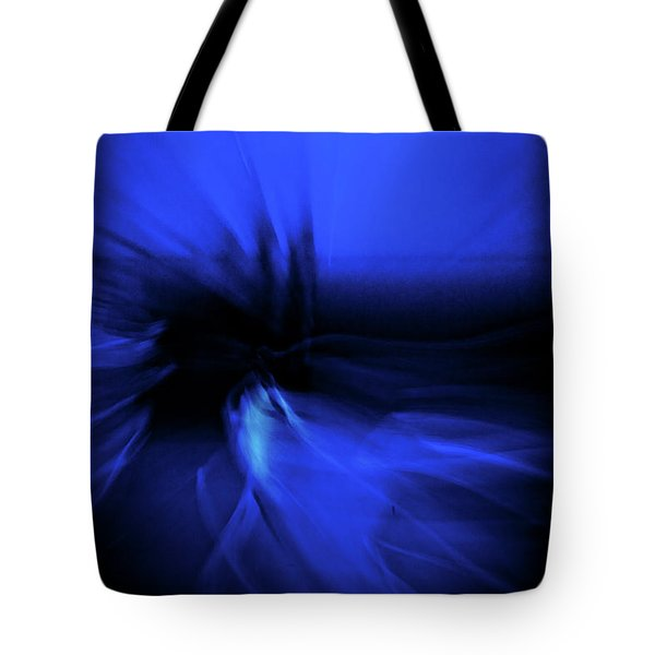 Dance Swirl In Blue Tote Bag