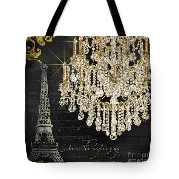 Dance The Night Away 1 Tote Bag by Audrey Jeanne Roberts