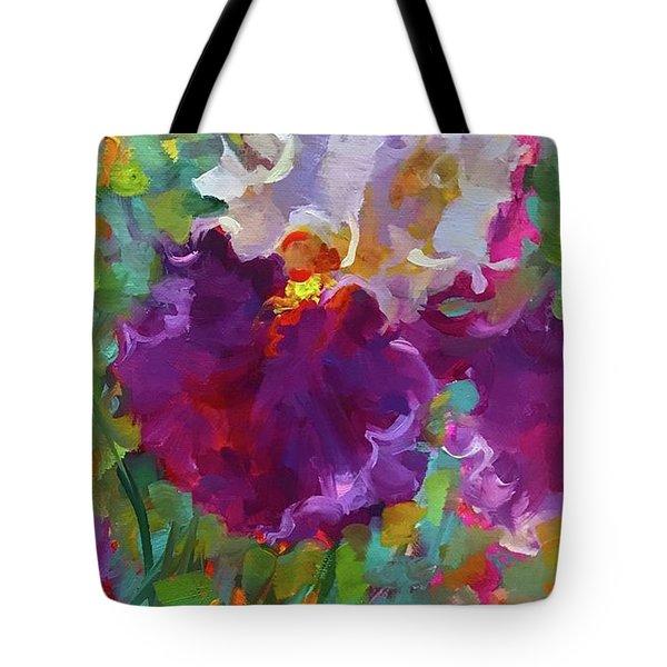 Dance The Night Away Iris Tote Bag