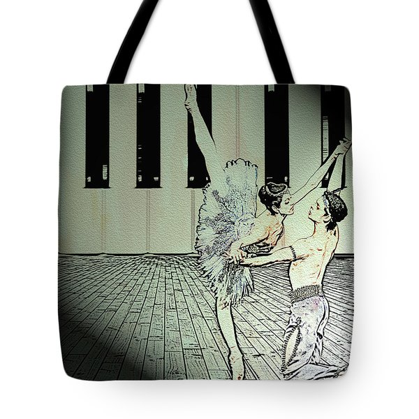 Dance To Express Your Thoughts Tote Bag
