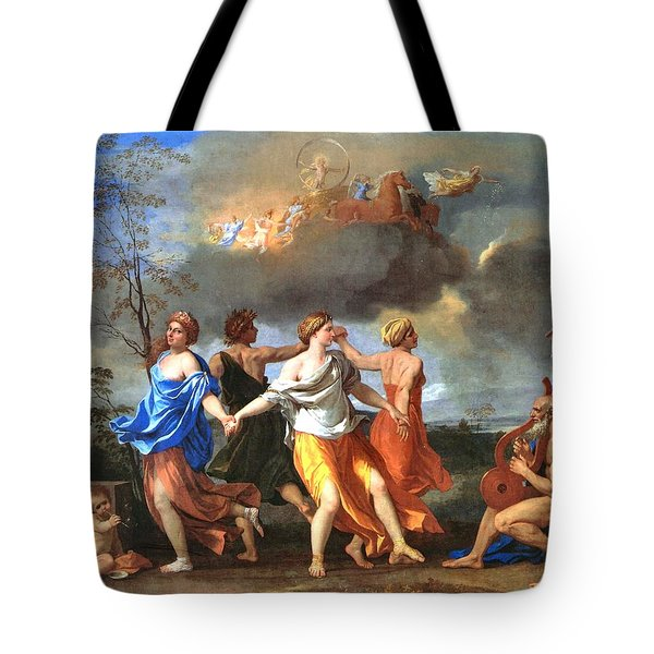 Dance To The Music Of Time  Tote Bag