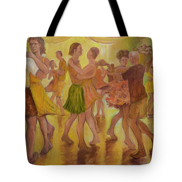 Dance Trance Tote Bag