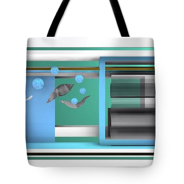 Dance With Balls Tote Bag