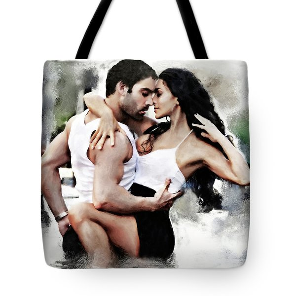 Dance With Passion Tote Bag