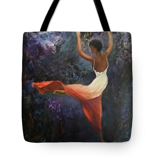 Dancer A Tote Bag