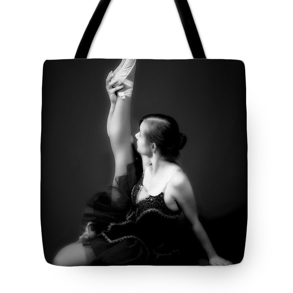 Tote Bag featuring the photograph Dancer No. 3   ... by Chuck Caramella