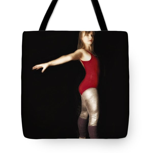 Tote Bag featuring the photograph Dancer  No. 4 ... by Chuck Caramella