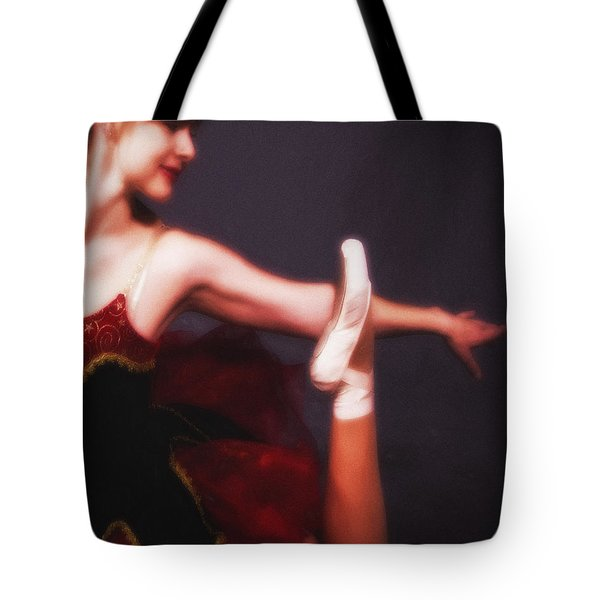 Tote Bag featuring the photograph Dancer No. 5  ... by Chuck Caramella