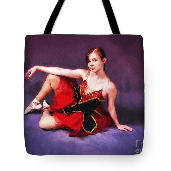 Dancer No. 6  ... Tote Bag