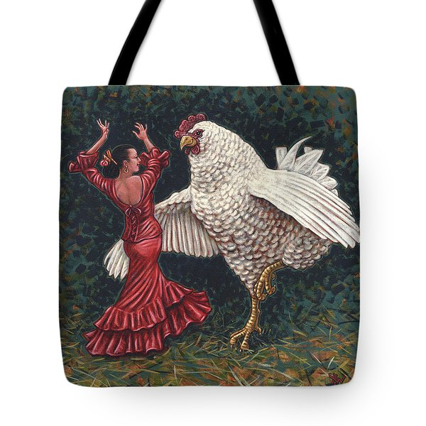 Dancers El Gallo Tote Bag