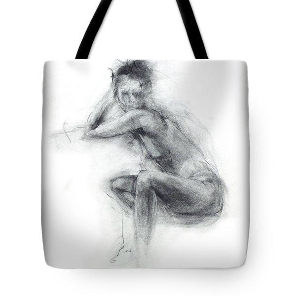 Dancer's Gaze Tote Bag by Christopher Williams