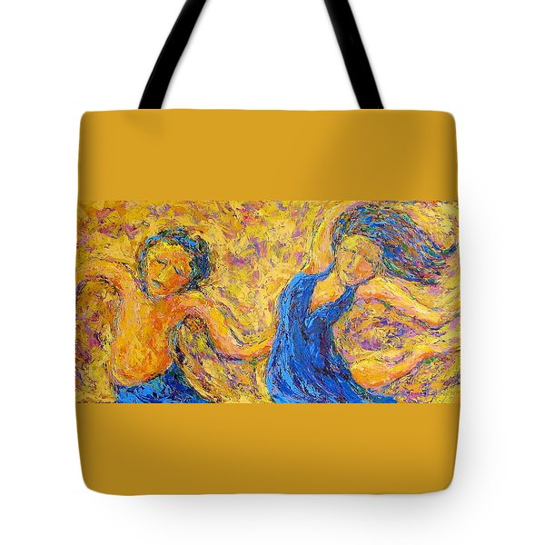 Dancers Tote Bag by Kat Griffin