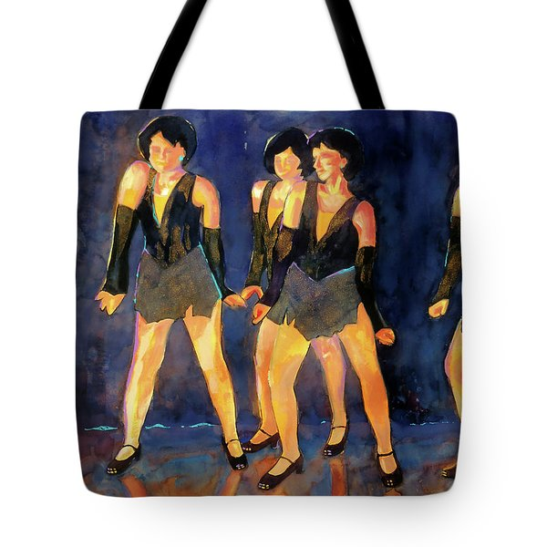 Dancers  Spring Glitz     Tote Bag