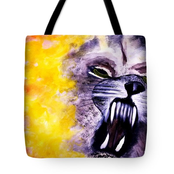 Wolf In Sheep's Clothing Tote Bag